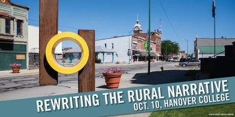 Rewriting the Rural Narrative at Hanover College tickets