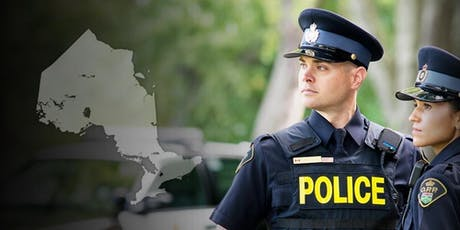 OPP Constable INFO Session (Ontario Police College-OPC) September 23, 2019 tickets