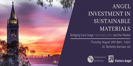 Angel Investment in Sustainable Materials tickets