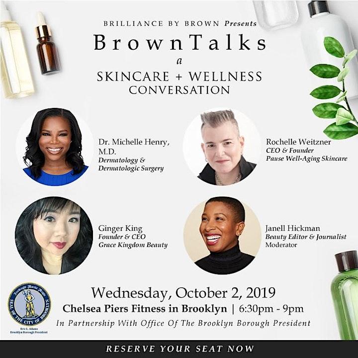 BrownTalks: A Skincare + Wellness Conversation image