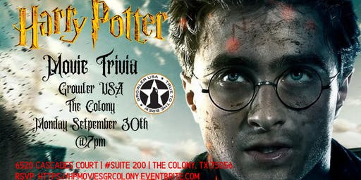 Harry Potter Movie Trivia at Growler USA The Colony
