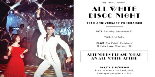 Marie C Petrilli 20th Anniversary All White Disco Night