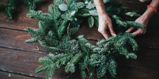 Festive Florals & Wreath Making Master Class
