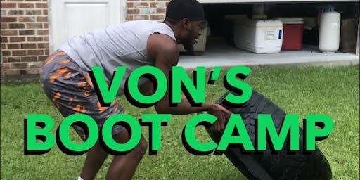 Von's Bootcamp