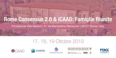 Rome Consensus 2.0 & Famiglie Riunite 17, 18, 19 Ottobre