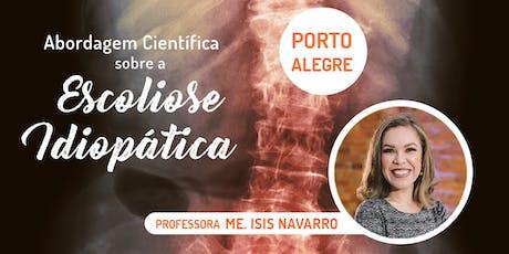 Abordagem Científica sobre a Escoliose Idiopática - Porto Alegre ingressos