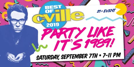 Best of C-VILLE Party 2019 tickets