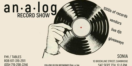 ANALOG Record Show