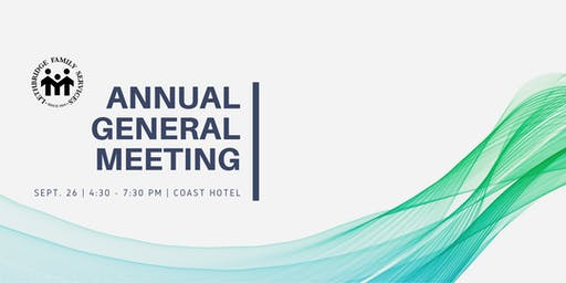 2019 Lethbridge Family Services - AGM
