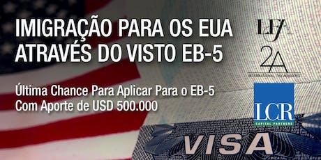 Como Emigrar para os EUA através do Visto EB-5 | Belo Horizonte tickets