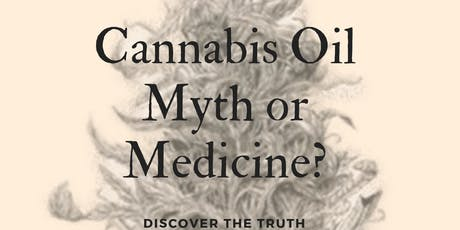 CBD Oil -Medicine or Myth? Can cannabis food supplements help you? tickets
