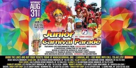 Junior Carnival Parade 2019 tickets