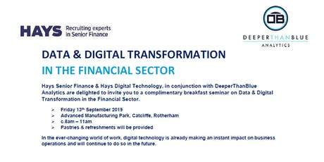 Data & Digital Transformation in the Financial Sector tickets