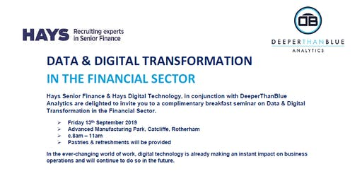 Data & Digital Transformation in the Financial Sector