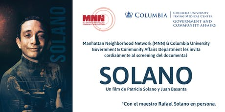 Solano, el documental. tickets