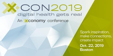 X·CON 2019: Digital Health Gets Real tickets