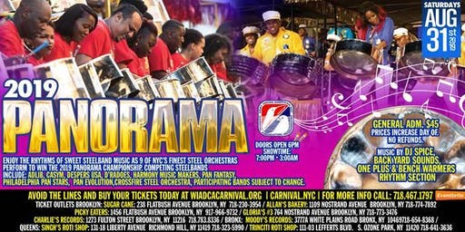 Steelband Panorama 2019