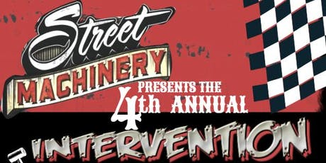 Street Machinery Hot Rod Intervention Open House & Auction tickets