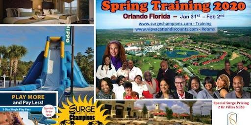 Surge Champions Spring Training 2020
