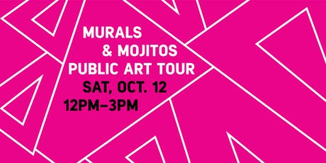 Murals and Mojitos Public Art Tour tickets