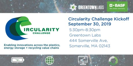 Greentown Labs Circularity Challenge Kickoff tickets