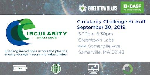 Greentown Labs Circularity Challenge Kickoff