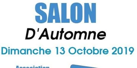 SALON D'AUTOMNE DIMANCHE 13 OCTOBRE POISSY billets