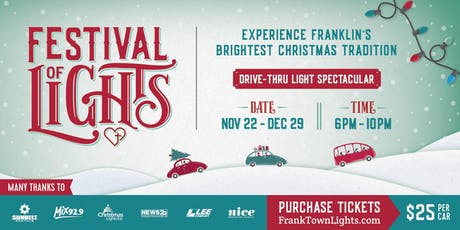Franktown Festival of Lights tickets