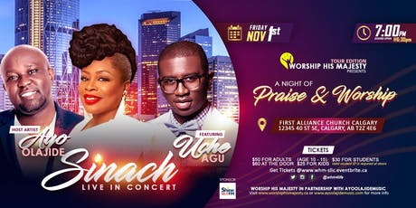 Worship His Majesty presents Sinach Live in Concert tickets