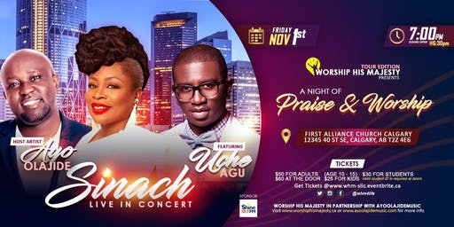 Worship His Majesty presents Sinach Live in Concert
