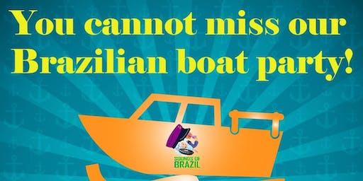Sounds of Brazil Boat party !