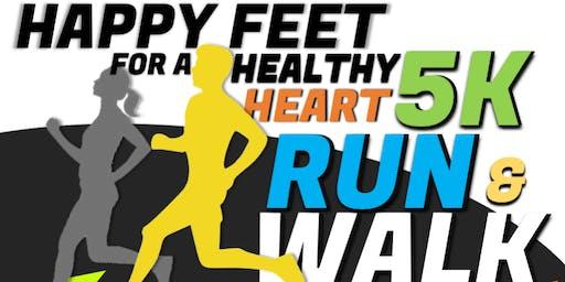 Happy Feet for a Healthy Heart 5K Walk/Run