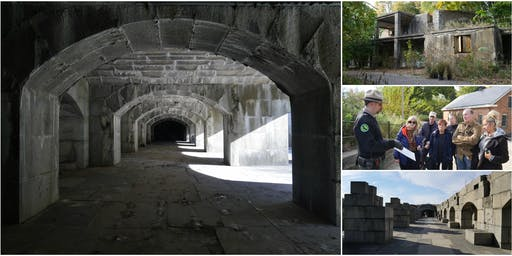 Behind-the-Scenes @ Fort Totten, 19th-Century Civil War Fortress
