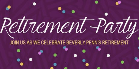 Beverly Penn's Retirement Party tickets