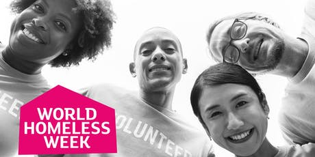 World Homeless Week  Morning Bucket Collection - Birmingham New Street tickets