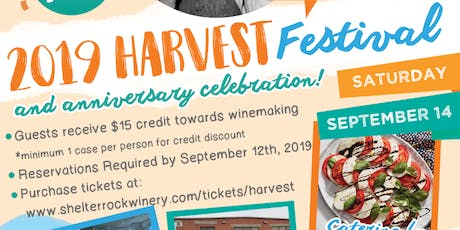Winery Fall Harvest Festival tickets
