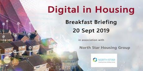 Exploiting Digital in Housing - A Breakfast Briefing - North East Region tickets