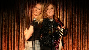"""Two Dykes and a Mic"" Comedy Show"