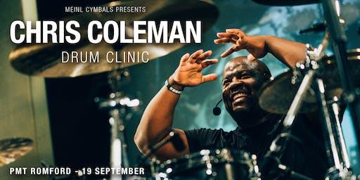 Chris Coleman Drum Clinic