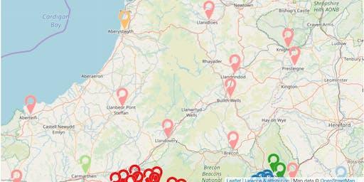 Understanding Welsh Places Testing Workshop/ Gweithdy Profi Deall Lleoedd Cymru - Newtown/ Y Drenewydd