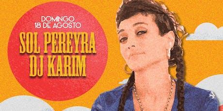 SOL PEREYRA Y DJ KARIM EN 8VA LÍNEA entradas