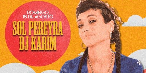 SOL PEREYRA Y DJ KARIM EN 8VA LÍNEA