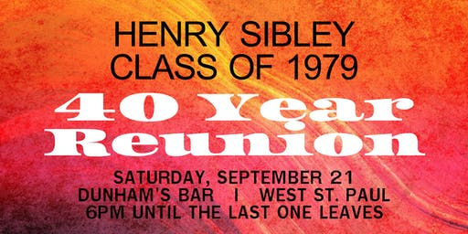Henry Sibley Class of 1979