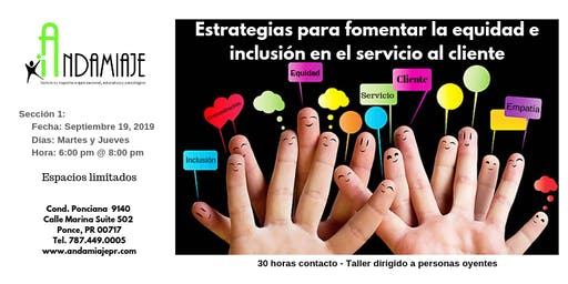 Estrategias para fomentar la equidad e inclusión en el servicio al cliente