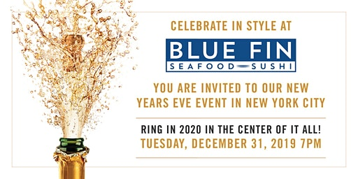 Blue Fin - New Year's Eve - New York City