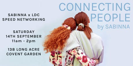 SABINNA x LDC present: Speed Networking - Brunch Edition -Connecting People tickets