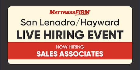 San Lenadro/Hayward - On-the-Spot Interviews tickets
