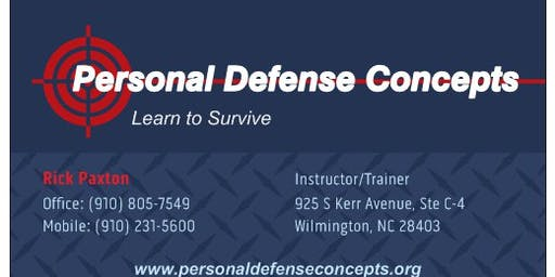 NC Concealed Carry Course