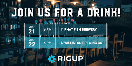 RigUp Happy Hour