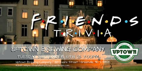 Friends Trivia at Uptown Brewing Company tickets
